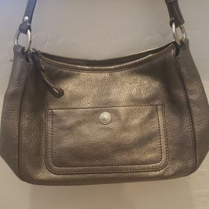 Coach Metalic Brown handbag
